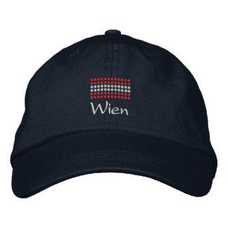 Casquillo de Wien - gorra austríaco de la bandera Gorras De Beisbol Bordadas