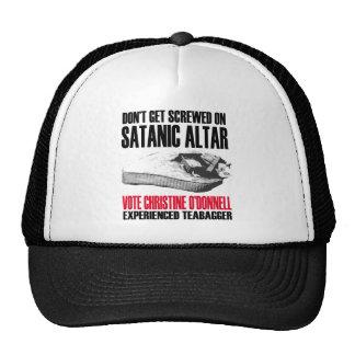 Casquillo del altar de Satan Gorros Bordados