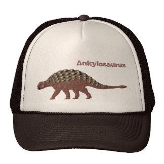 Casquillo del Ankylosaurus Gorros Bordados