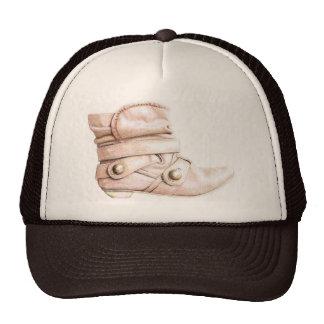 Casquillo del arte de la bota gorras de camionero