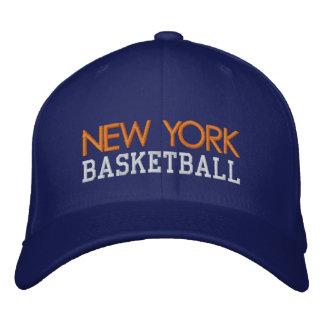 Casquillo del baloncesto del azul real de NUEVA YO Gorra Bordada