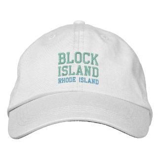 Casquillo del BLOCK ISLAND 1 Gorra De Beisbol