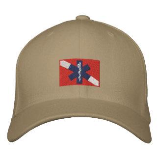 Casquillo del buceador del rescate gorra de béisbol