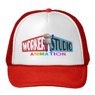 Casquillo del camionero de la animación del estudi gorro