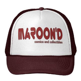 Casquillo del camionero de los tebeos de Maroon'd Gorras De Camionero