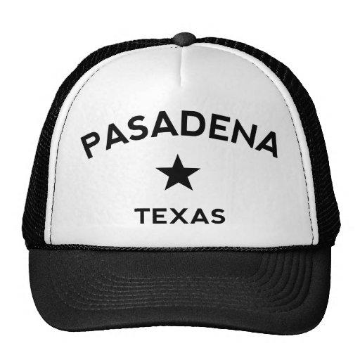 Casquillo del camionero de Pasadena Tejas Gorras