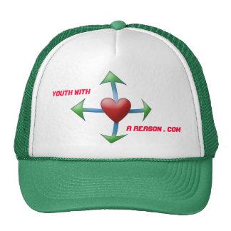 Casquillo del camionero del logotipo de YouthWAR Gorra