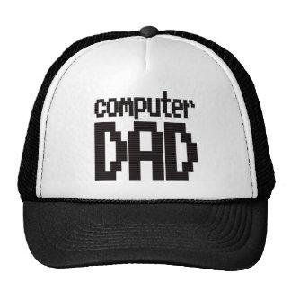 Casquillo del camionero del papá del ordenador gorra