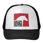 Casquillo del camionero del rescate del caballo de gorras de camionero