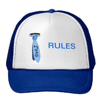 Casquillo del camionero - reglas del papá #1 gorra