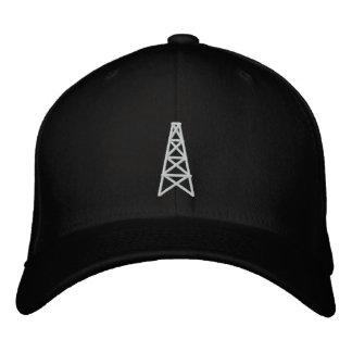 Casquillo del campo petrolífero (matón) gorras bordadas