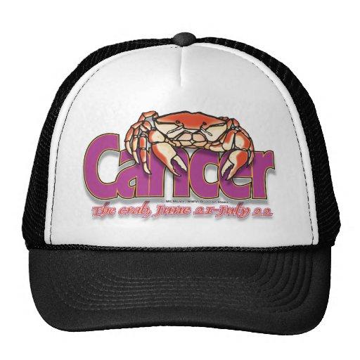 Casquillo del cangrejo del cáncer gorro