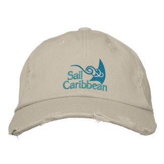 Casquillo del Caribe de la vela Gorra De Beisbol
