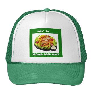 Casquillo del día de fiesta de la ensalada gorros bordados