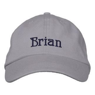 Casquillo del diseñador conocido de BRIAN Gorra De Beisbol Bordada