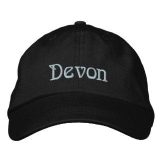 Casquillo del diseñador conocido de DEVON Gorra De Beisbol
