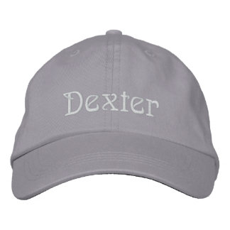 Casquillo del diseñador conocido de DEXTER Gorra De Béisbol