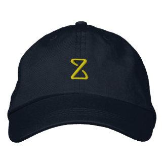 """Casquillo del diseñador de la INICIAL """"Z"""" Gorras Bordadas"""