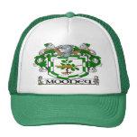 Casquillo del escudo de armas de Mooney Gorros