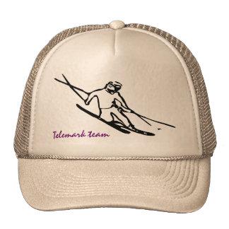 Casquillo del esquiador de Telemark Gorro