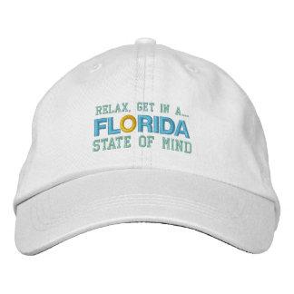 Casquillo del ESTADO DE ÁNIMO de la FLORIDA Gorras De Béisbol Bordadas