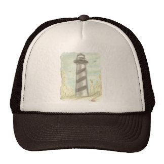 Casquillo del faro de la playa gorra