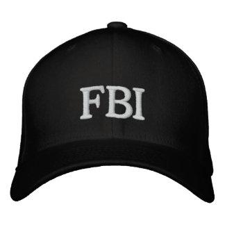 CASQUILLO DEL FBI GORRAS DE BEISBOL BORDADAS