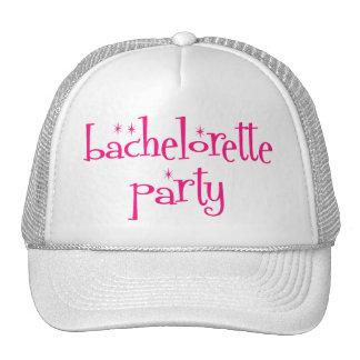 Casquillo del fiesta de Bachelorette Gorra