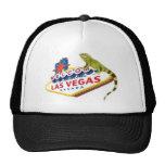 Casquillo del grillo de la iguana de Las Vegas Gorras De Camionero