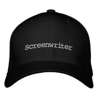 Casquillo del guionista gorra de beisbol