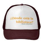 Casquillo del humor de Biblioteca del La de Donde  Gorro De Camionero