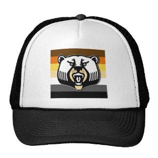 Casquillo del icono del oso gorro de camionero