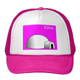 casquillo del iglú gorras de camionero