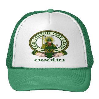 Casquillo del lema del clan de Devlin Gorras De Camionero