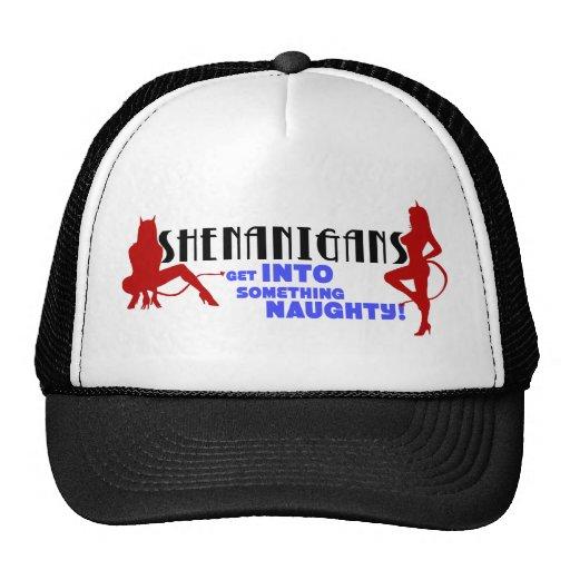 Casquillo del logotipo de los Shenanigans Gorros Bordados