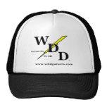 Casquillo del logotipo de WDD Gorros Bordados