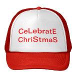 Casquillo del navidad gorras de camionero
