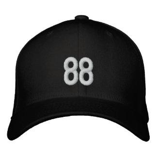 Casquillo del número 88 gorras de béisbol bordadas
