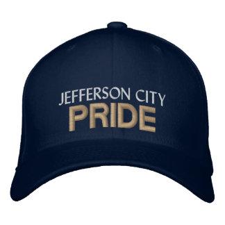 Casquillo del orgullo de jefferson city gorra bordada