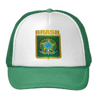 """""""Casquillo del oro del Brasil"""" Gorra"""