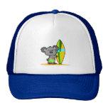Casquillo del oso de koala de la resaca gorras de camionero