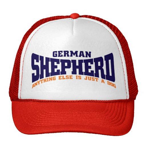 Casquillo del pastor alemán gorras