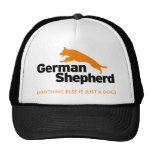 Casquillo del pastor alemán gorros bordados