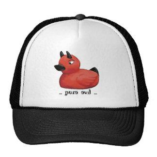 Casquillo del pato del diablo gorras