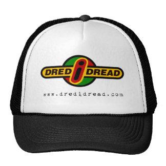 Casquillo del pavor de Dred I - negro y blanco Gorras De Camionero