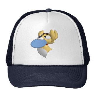 Casquillo del perro del disco volador gorras