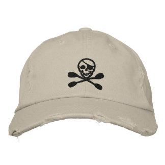 Casquillo del pirata de la paleta del kajak gorras de beisbol bordadas