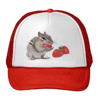 Casquillo del placer de la fresa gorras