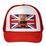 Casquillo del recuerdo de Londres Inglaterra Gorras De Camionero