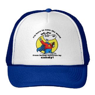 Casquillo del rescate del caramelo gorras de camionero